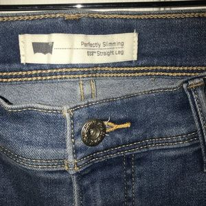 Levi 'perfect slimming jeans